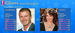 PopSugar 100 Round 3 Spotlight: David vs. Tina