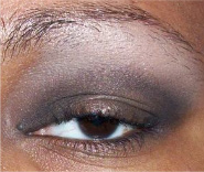Shimmery Brown Smokey Eye