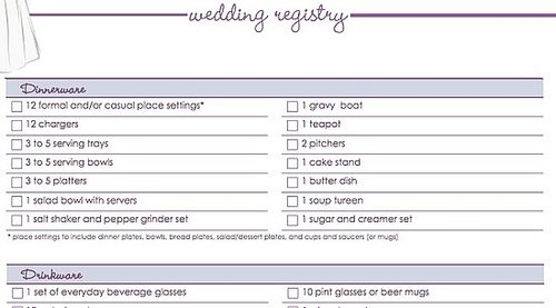 Download Our Free Wedding Registry Checklist