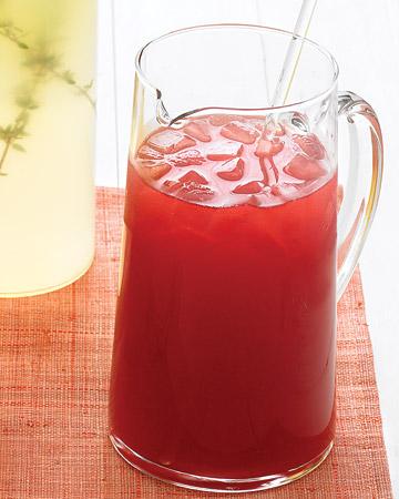 Hibiscus-Honey Iced Tea