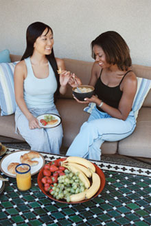 Do Your Friends Share Similar Diet and Exercise Habits?