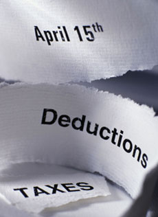 Quick Tax Deduction Calculation