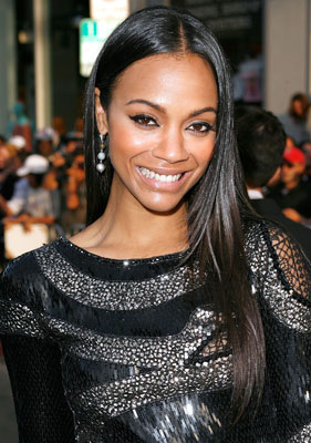 How-To: Zoe Saldana's Star Trek Premiere Hair