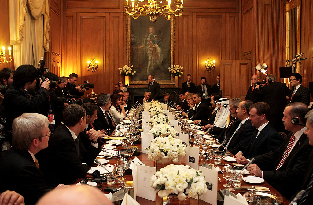 Dinner on Downing Street!