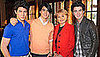 The Jonas Brothers Go Home With Their Mom at Night