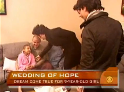 The Jonas Brothers Visit 9-Year-Old Bride