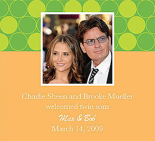 Charlie Sheen and Brooke Mueller Welcome Twin Boys!