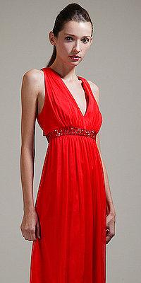 Red Sleeveless Cocktail Dresses by Carmen Marc Valvo