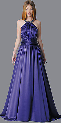 Elegant Violet Evening Gowns by Marc Bouwer Glamit!