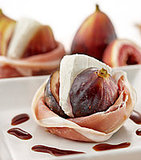 Warm Figs With Goat Cheese