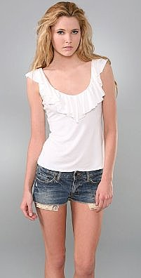 Rachel Pally Ruffle Back Top