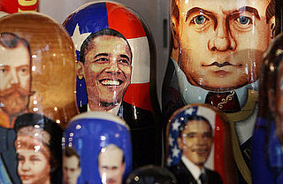 Obama Matryoshka Dolls Sold in Russia