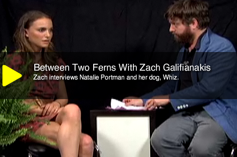Natalie Portman on Between Two Ferns
