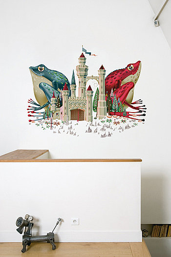 Wall sticker by Klaus Haapaniemi