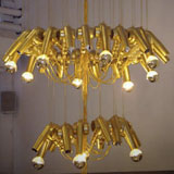 Blow-Dryer Chandelier