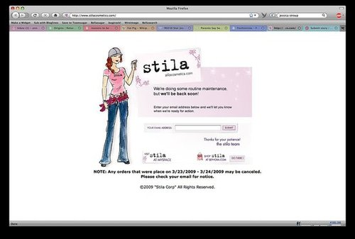 Stila Bankrupt?