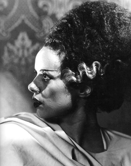 #9: Elsa Lanchester in Bride of Frankenstein