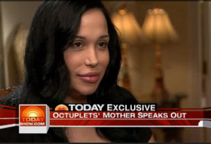 Octomom Trademarks Name for Clothing Line