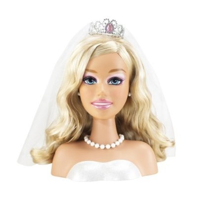 Barbie Wedding Day Styling Head