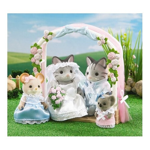 Calico Critters:  Wedding Luncheon