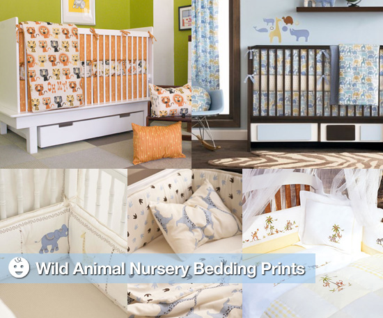 Wild Animal Nursery Bedding