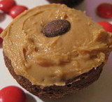 Almond Be There for You Brownie Cupcake