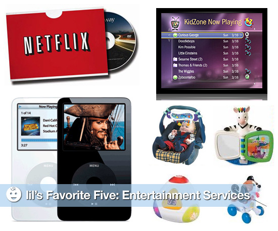 lil's Favorite Five: Entertainment Services For Kids