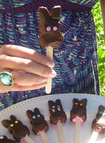 How to Make Chocolate-Covered Peeps For Easter