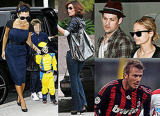 Photos of Victoria Beckham, Eva Longoria and Nicole Richie at Cruz's Birthday Party Plus David Beckham Playing For AC Milan