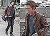 Photos Of Robert Pattinson in Snowy Vancouver