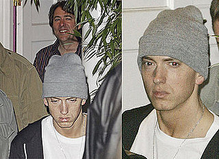 Photos Of Eminem Leaving Jonathan Ross's House In London, Jonathan Ross Gives Away Tickets To Detroit Album Launch On Twitter