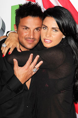 Photos of Jordan aka Katie Price and Peter Andre Who Are Due to Meet Up After Rumours Suggest Kate Is In Love With Another Man