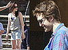 25/05/2009 Robert Pattinson and Kristen Stewart Filming New Moon