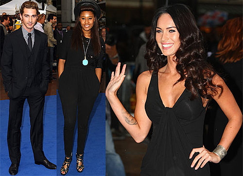 Photos Of Shia LaBeouf, Megan Fox, Josh Duhamel, VV Brown, Danielle Lloyd At UK Transformers: Revenge Of The Fallen Premiere