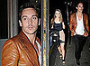 Photos of Jonathan Rhys Meyers and Possible Girlfriend Katie Larmour in Dublin