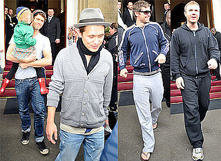 Photos Of Take That - Gary Barlow, Mark Owen, Jason Orange, Howard Donald - In Glasgow, and Howard With His Daughter Lola