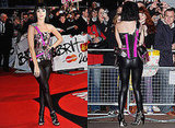 Katy Perry in Hello Kitty Corset at 2009 Brit Awards