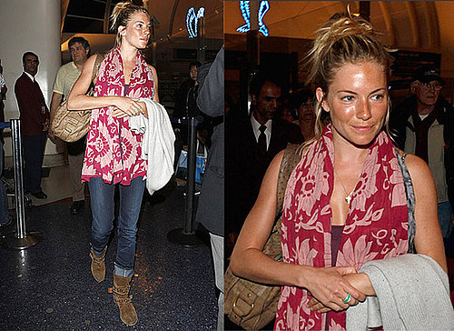 Celebrity Style: Sienna Miller at LAX