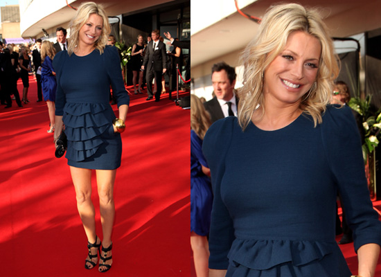 Photos of Tess Daly at the 2009 TV BAFTAs