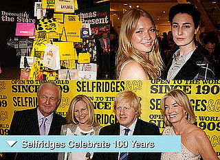 Selfridges Party with Lily Allen, Erin O'Connor, VV Brown, Boris Johnson
