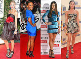 Photos of Heidi Klum, Alexandra Burke, Fergie and Megan Fox in Louboutin Differa Black Heels