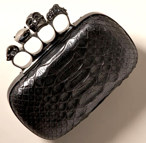Alexander McQueen Knuckle-Duster Clutch
