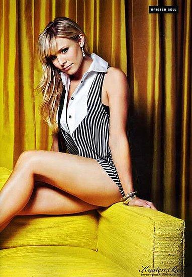 kristen bell on FHM U.K magazine june 2008 issue