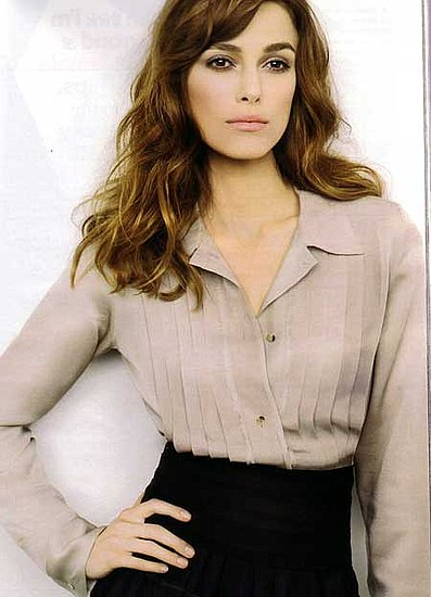 Keira Knightley on Glamour magazine sept 2008