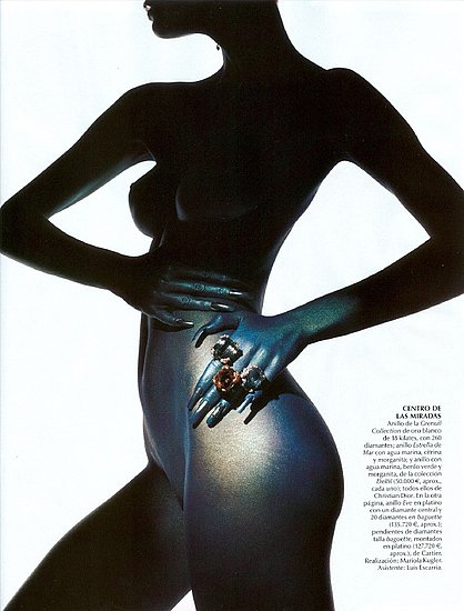 Aline Nakashima does Vogue Brazil-2005