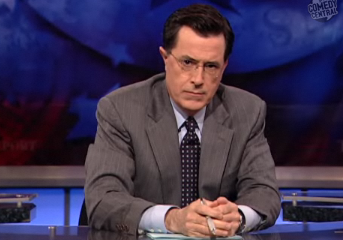 Stephen Colbert's Anti-Gay-Marriage Ad Video