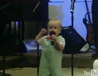 Baby Preacher Wows the Congregation