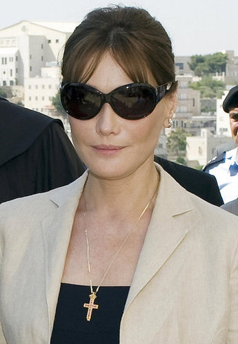 Carla Bruni Criticizes Pope For Anti-Condom Message