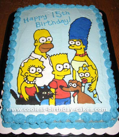 Simpson's Lovely Cakes