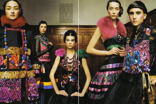 Vogue Italia, Sep 08 - Eye Of a Romantic Spirit
